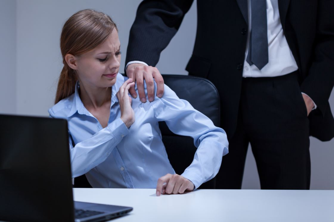 How to respond to sexual harassment from an office big shot